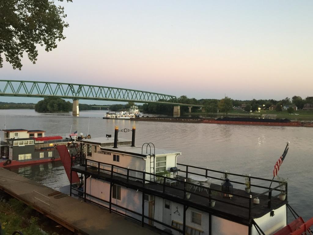 Ohio River in Marietta, Ohio