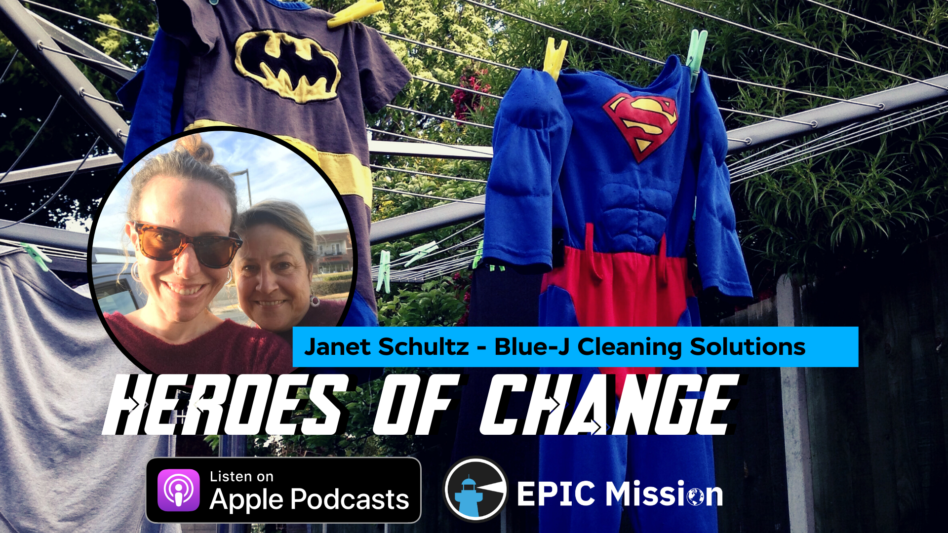 Heroes of Change: Janet Schultz of Blue-J Cleaning Solutions